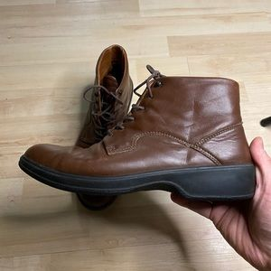 Clarks Brown Leather Shoes Made in Slovenia 9